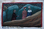 Dante and Virgil meet Statius.